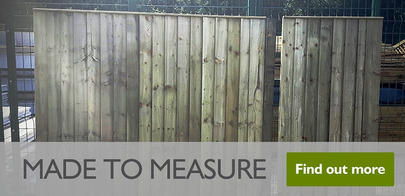 Made to Measure Fence Panels
