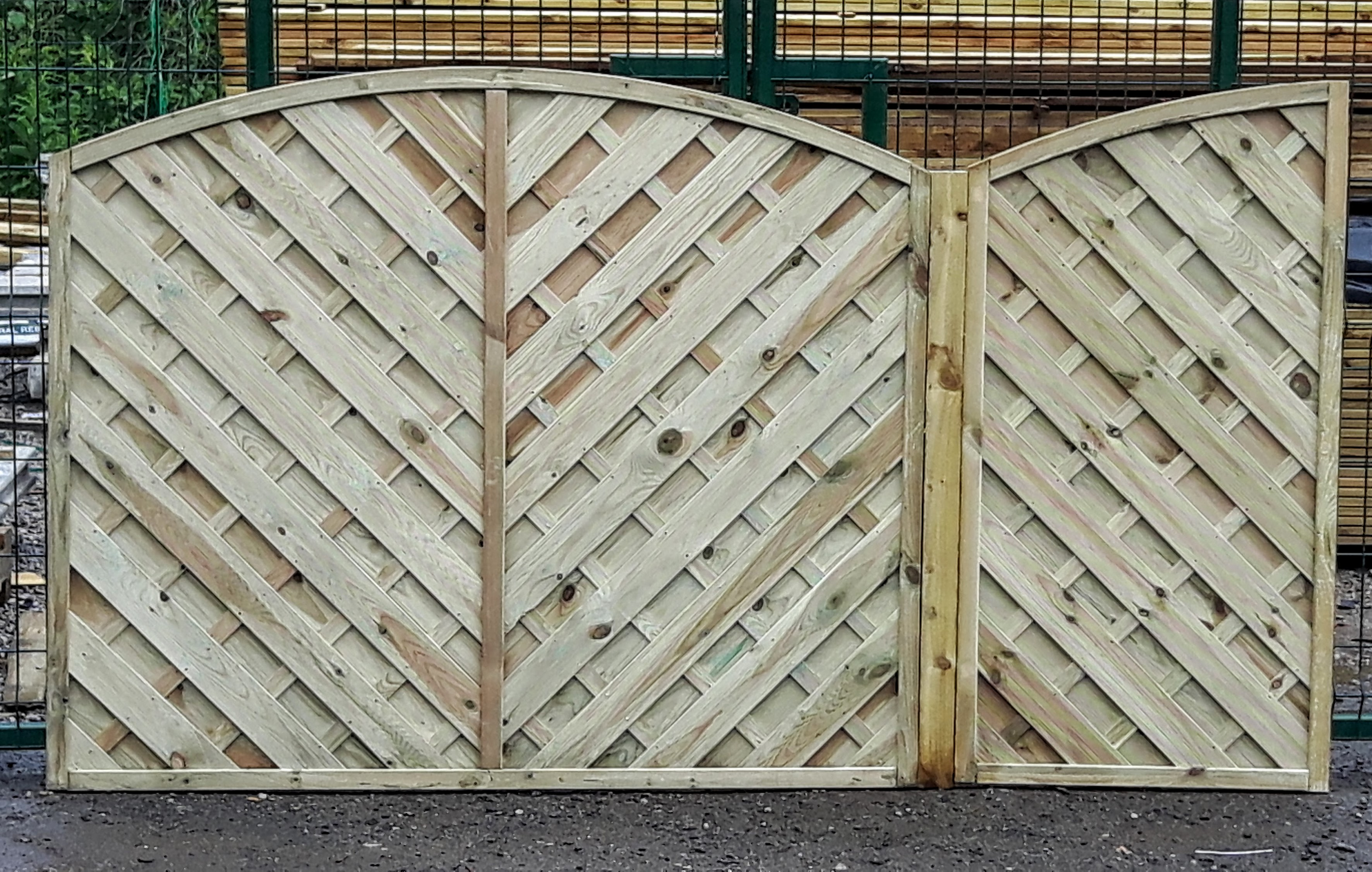 Ukdeckit trade prices direct to the public made to measure fence panels baanklon Choice Image