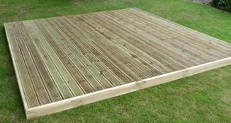 Decking Kit NO BALUSTRADE