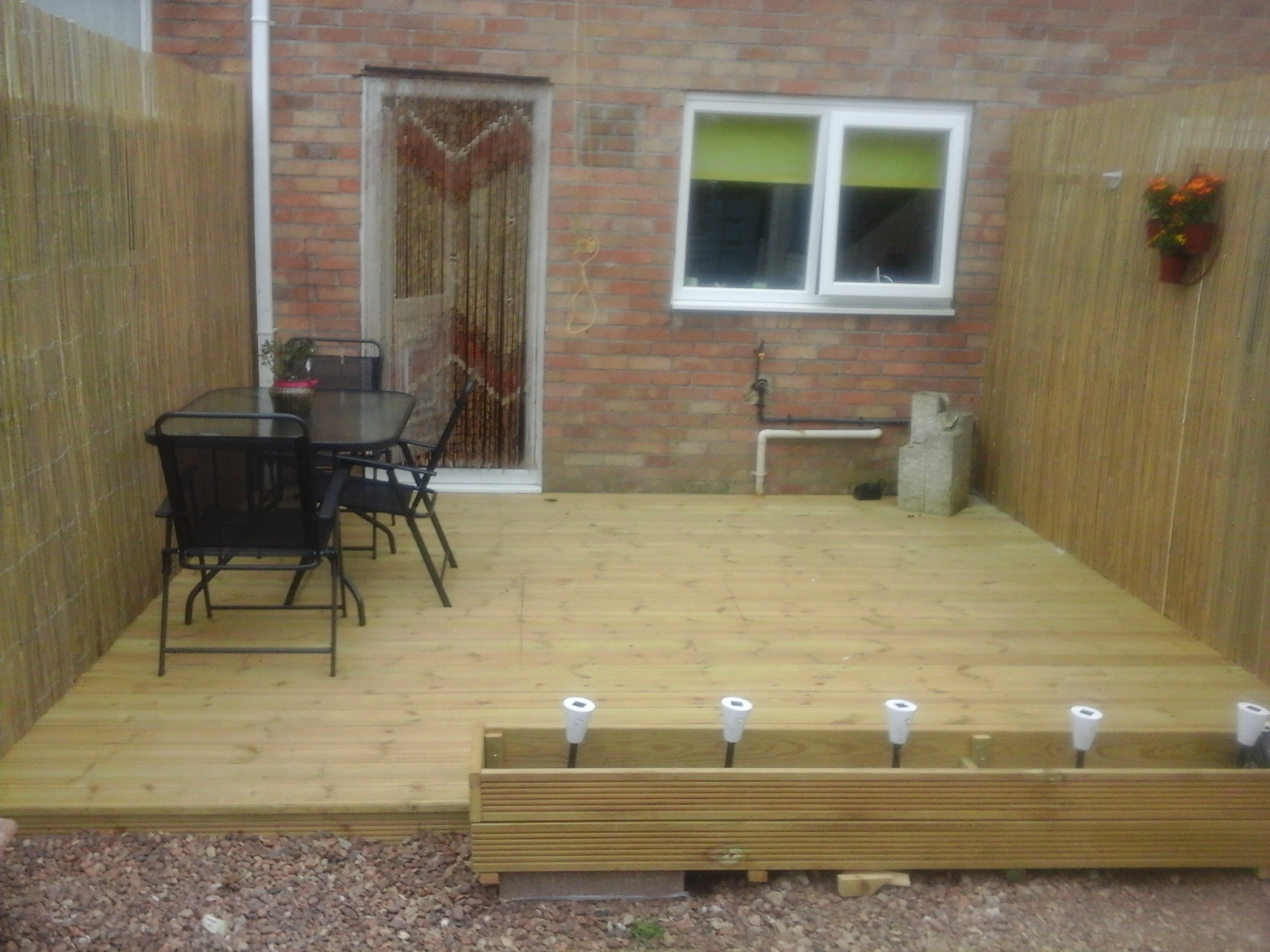 Decking Kit No Balustrade - customer photo