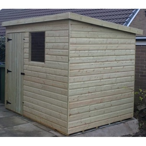 pressure treated pent-tanalised-shed-standard plus