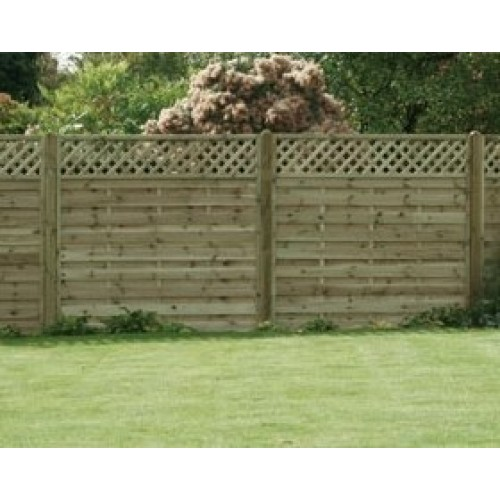 st esprit trellis-top-fencing-panel